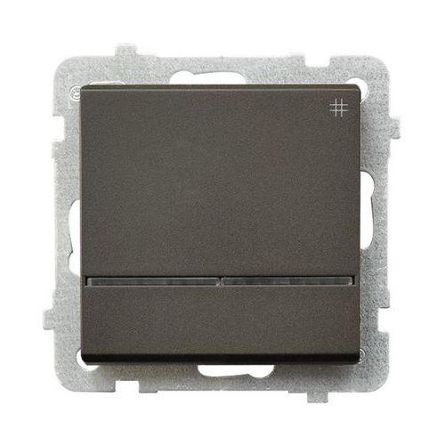Łącznik krzyżowy z podświetleniem Czekoladowy metalik - ŁP-4RS/m/40 Sonata