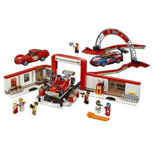 speed champions 75889 rewelacyjny warsztat ferrari marki Lego