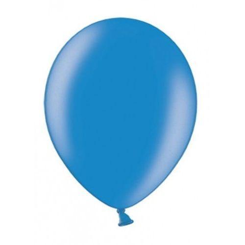 """Party world Balony 12"""" strong, niebieskie, corn blue, metaliczne 100 szt. (5901157485298)"""