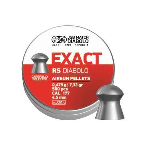 Jsb match diabolo Śrut diabolo jsb exact rs 4,52 mm 500 szt.