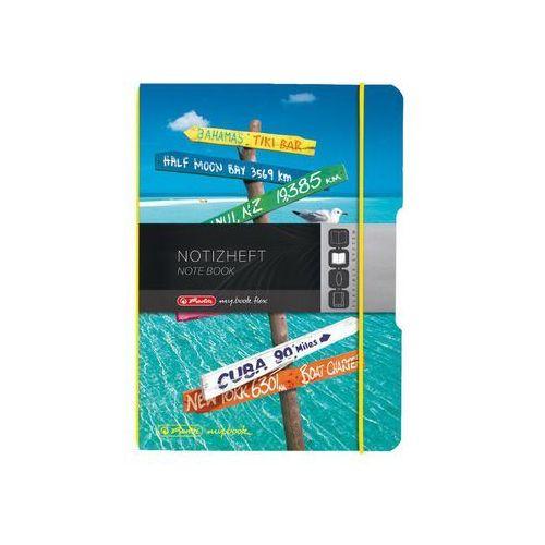 Notatnik A6/40 kratka My Book Flex, 0011415635