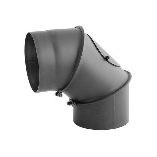 Kaiser pipes Kolano z rewizją 120 mm 0-90 st regulowane (5903205470348)