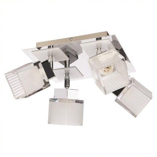 Oxen lampa sufitowa (spot) 4-punktowa biała O2004 P4 BIA, O2004 P4 BIA