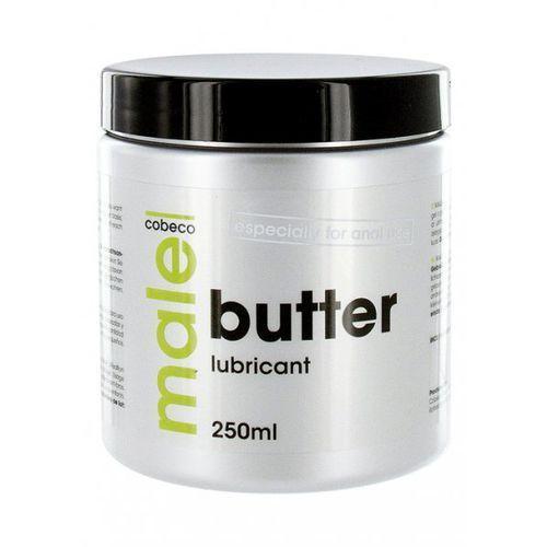 Cobeco pharma Cobeco male butter lubricant preparat na bazie masła do nawilżania 250ml (8717344178686)