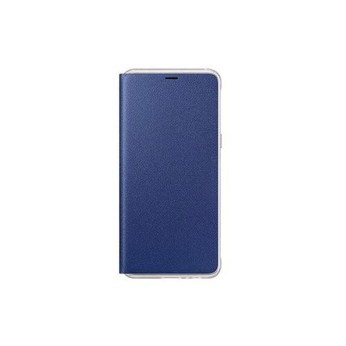 76302e4472 Etui galaxy a8 (2018) neon flip cover blue marki Samsung - Smart-World