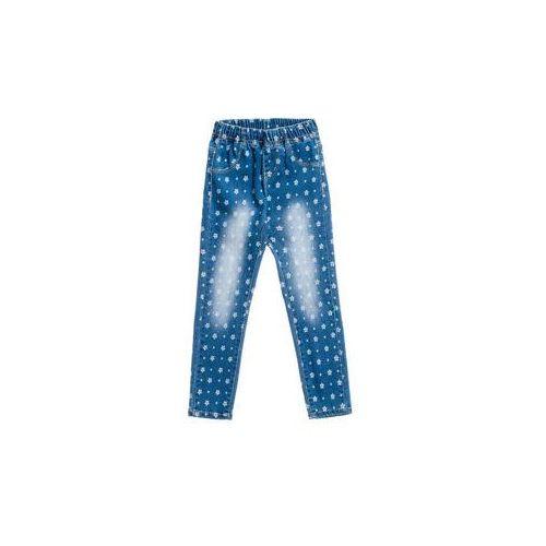 Happy house Spodnie jeansowe dziewczęce niebieskie denley pps060