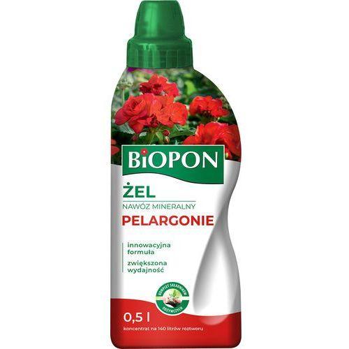 Biopon żel nawóz mineralny do pelargonii 500 ml