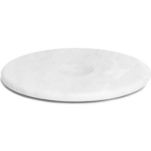 Patera moon marmurowa biała, MP24MW