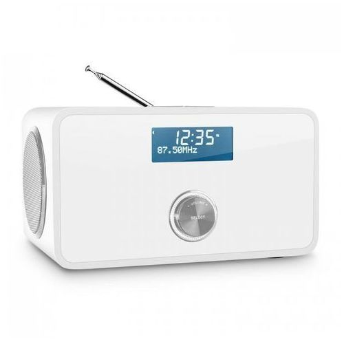 DABStep DAB/DAB+ Radio cyfrowe Bluetooth UKF RDS Budzik kolor biały