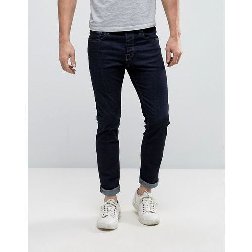 Selected Homme Indigo Rinse Wash Jeans with Stretch in Slim Fit - Blue