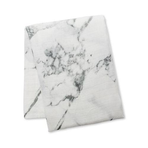 modern kocyk bambusowy marble marki Lulujo