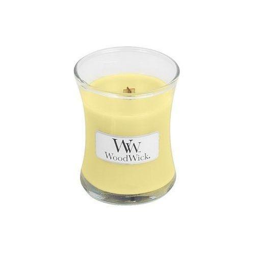 WoodWick - Świeca Mała Lemongrass & Lilly 40h