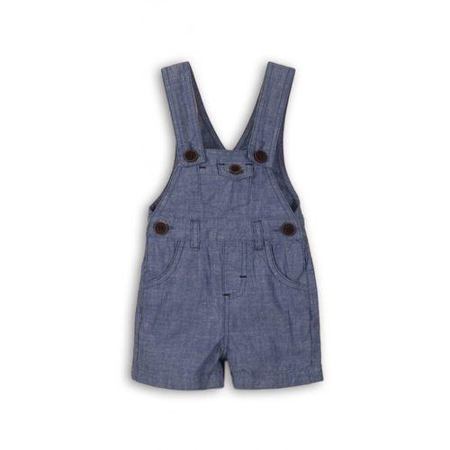 Ogrodniczki niemowlęce niebieskie 5n38a1 marki Minoti