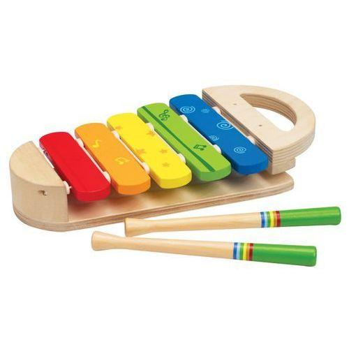 Melodyjne drewniane cymbałki - Hape