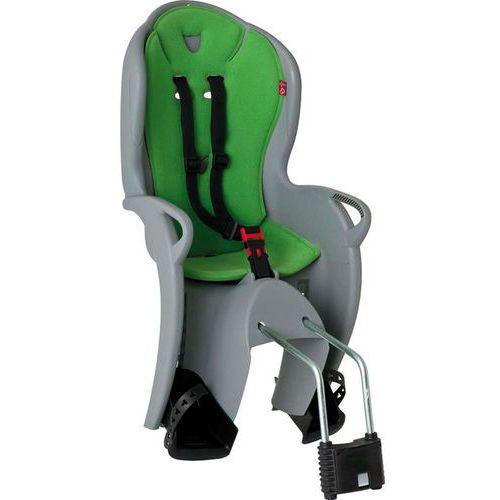 Hamax Fotelik rowerowy kiss szary, zielona wyściółka
