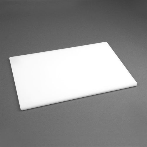 Deska do krojenia | niska gęstość | antybakteryjna | biała marki Hygiplas