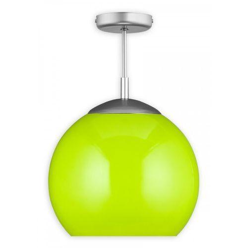 Lemir kula o1836 w1 k_4 plafon lampa sufitowa 1x60w e27 satyna / zielony