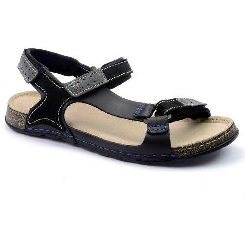 Sandały NIK 06-0163-00-0-01-00 czarny