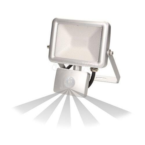 Naświetlacz SLIM LED 10W czuj. ruch. IP44, srebrny, OR-NL-379GLR5, ORNO