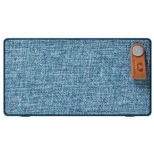 Głośnik FRESH N REBEL ROCKBOX SLICE FABRIQ EDITION niebieski (001583150000) Darmowy odbiór w 21 miastach!, 001583150000