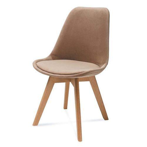 Hliving Nowoczesne tapicerowane krzesło harry a