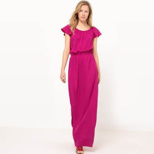 Długa lejąca sukienka, R studio