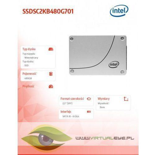 Intel SSD DC S4500 Series 480GB, 2.5in SATA 6Gb/s