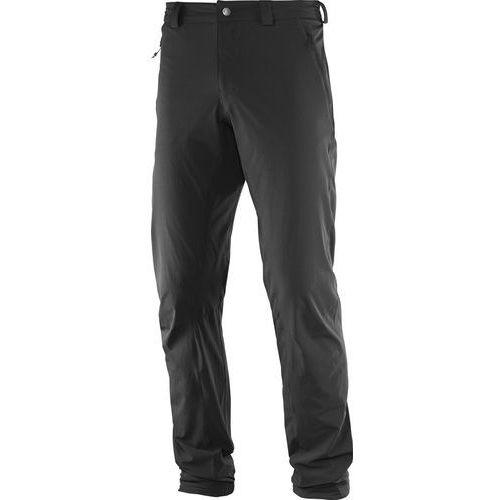 Salomon wayfarer incline spodnie długie mężczyźni czarny 54 2017 spodnie turystyczne