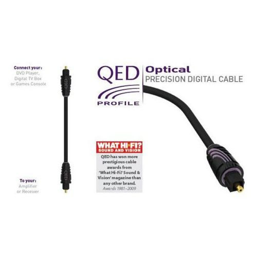 Profile qed Optical Cable (5 m), 5036694008157