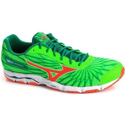 Mizuno Wave Hitogami 4 Green Orange