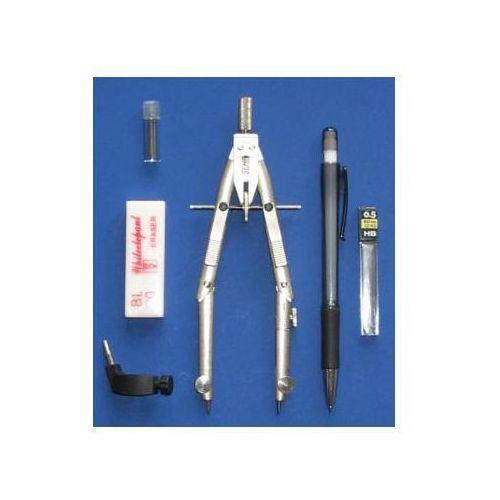 Cyrkiel szybkoprzestawny 170mm + ołówek x1