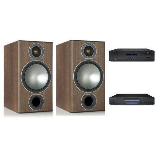 Cambridge audio sr10v2 + cd5 + monitor audio bronze2 marki Zestawy