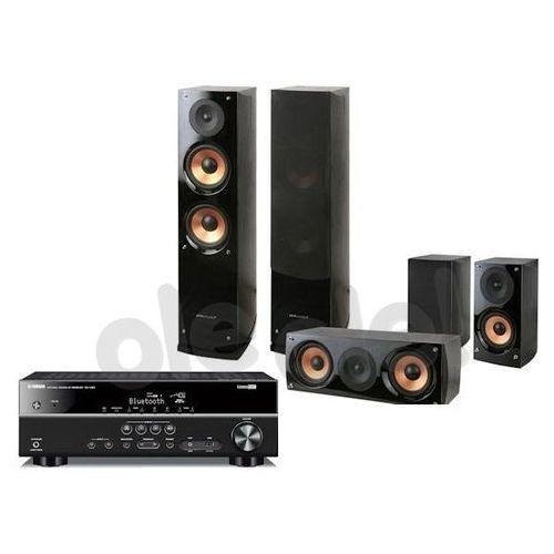 Yamaha  rx-v381, pure acoustics nova 6 (czarny) - produkt w magazynie - szybka wysyłka!