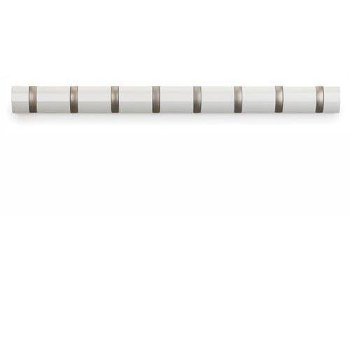 Wieszak Flip Hook 8 biały, D2-7040