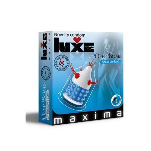 Condom Luxe Deep Bomb z kategorii Prezerwatywy