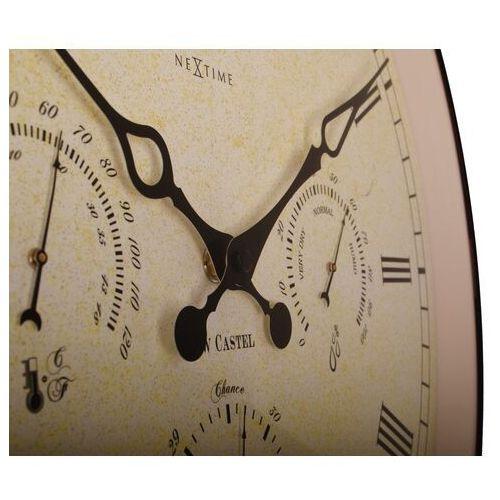 Zegar ścienny aaltje weather station 45 cm - stacja pogodowa (2970) marki Nextime