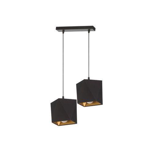 Lampa wisząca Tyrus 2 czarna Producent Lampex, kolor Czarny