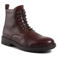Trapery PEPE JEANS - Porter Boot Basic PMS50179 Burgundy 299, kolor czerwony