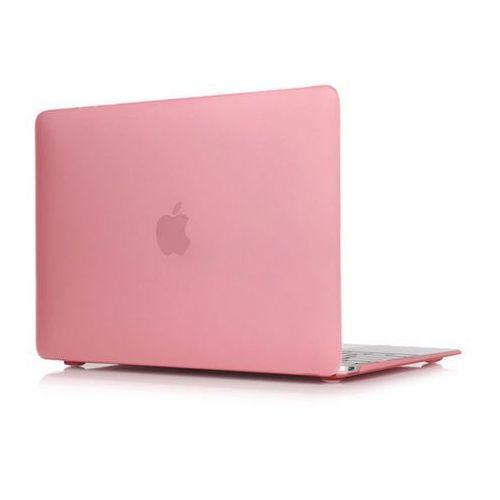 4kom.pl Macbook air 13'' etui pokrowiec hard case różowe - różowy