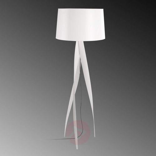 Leds-c4 medusa lampa stojąca biały, 1-punktowy - nowoczesny - obszar wewnętrzny - medusa - czas dostawy: od 2-3 tygodni
