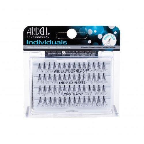 individuals duralash knotted flares sztuczne rzęsy 56 szt dla kobiet long black marki Ardell