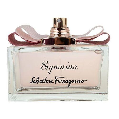 Salvatore ferragamo signorina woda perfumowana 100 ml tester dla kobiet (8595562258386)