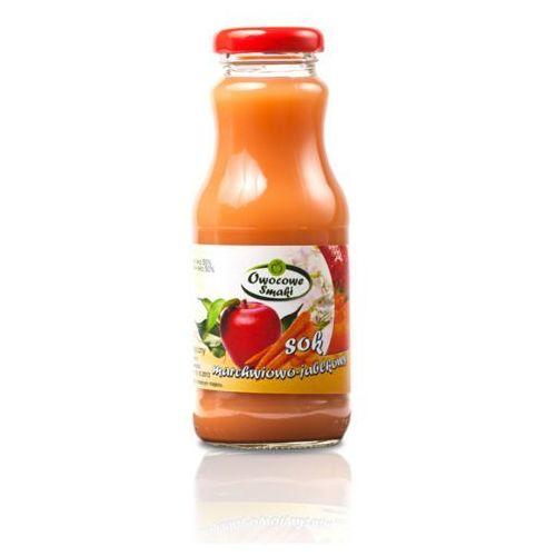 Owocowe smaki Sok marchwiowo- jabłkowy bio 12x250ml- (5902768762051)
