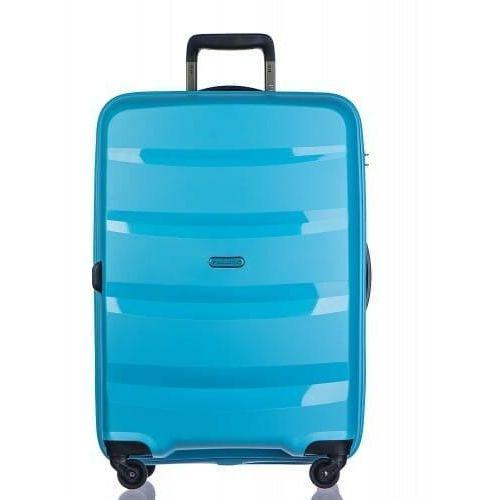 PUCCINI walizka mała/ kabinowa PP012 kolekcja ACAPULCO 4 koła materiał polipropylen zamek szyfrowy TSA, PP012 C