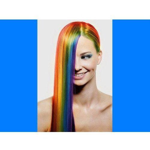Zmywalny kolorowy spray do włosów 125 ml - niebieski marki Go
