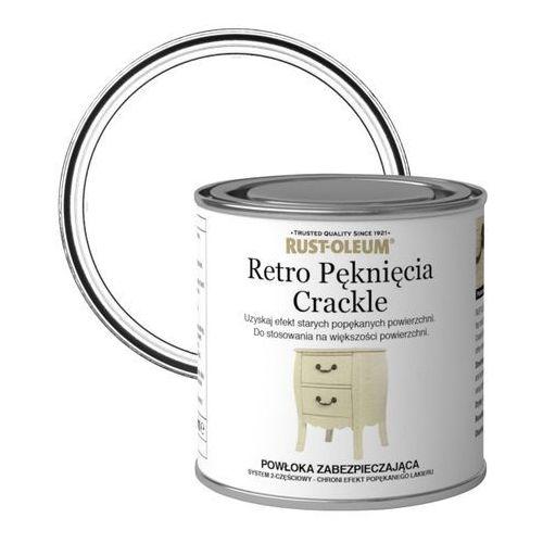 Lakier wierzchni Rust-Oleum retro pęknięcia bezbarwny 0,125 l (5013296038461)