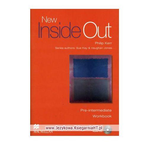 New Inside Out Pre-Intermediate Workbook (zeszyt ćwiczeń) without Key and Audio CD, oprawa miękka