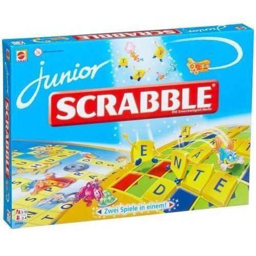 Scrabble junior marki Mattel