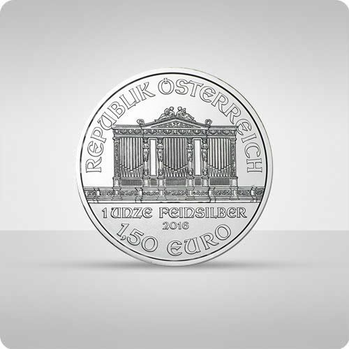 Wiedeńscy filharmonicy 1 uncja srebra - 15dni marki Münze Österreich