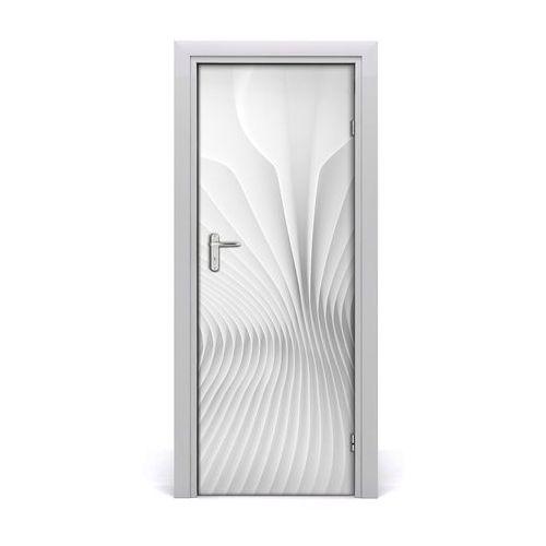 Naklejka samoprzylepna na drzwi Abstrakcja linie